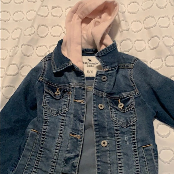 Abercrombie & Fitch Other - Abercrombie kids jean jacket